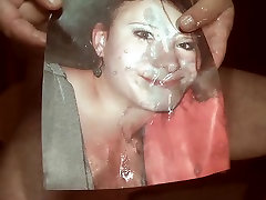 Tribute for kringelborg - Lisa gets sperm in her mouth
