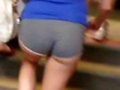 hot ass in tiny tight shorts Voyeur