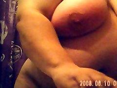 big tits bbw spied after shower
