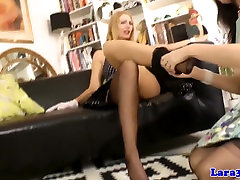 Classy british milf lesbians in stockings