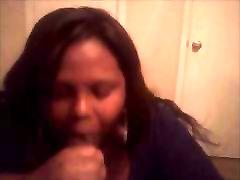BBW Ebony loves eating dick