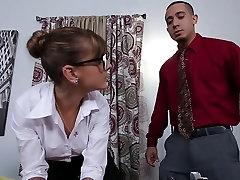 PunishTeens - Hot Secretary Punished in the Office