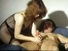 Vintage milf in lingerie