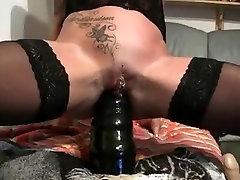 Huge Dildo Mature Ass
