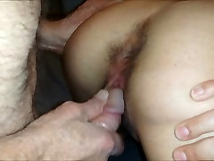 77yo fucks my wife doggy style and cums in her