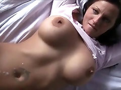 Busty mature cougar fucked by a young boy