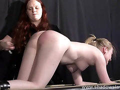 Satine Sparks lesbian foot fetish and hot waxing bdsm