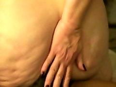 Big Butt Rides Black Cock