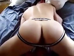 Ass fucked by a big cock