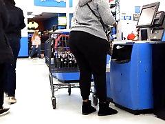 Huge Ass Ebony in Black Sweats