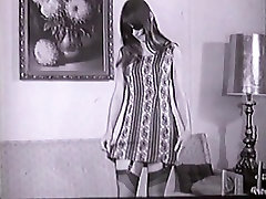 ALL OR NOTHING - vintage stockings striptease mod hippie 60s