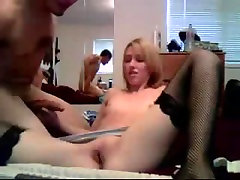Nice Blonde Amateur Teen Fucking and Oral on Webcam