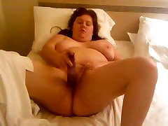 Sexy BBW bates for her husband