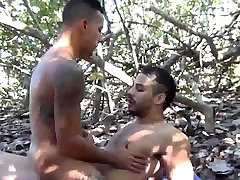 Latinos hot beach fuck