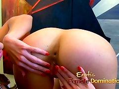 Asian doctor has fun kicking and jerking a patient&039;s cock