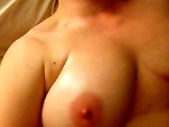 Chubby amature wife wanking off bouncing boobs