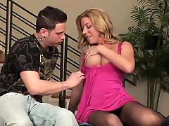 Sexy mature milf in lingerie desire dick