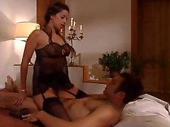 Janet Taylor fucking in black stockings