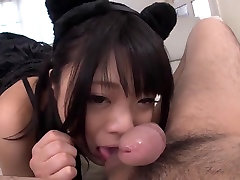 asian pussy cat cosplay suck cock