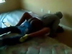Black men take turns on black teen girl