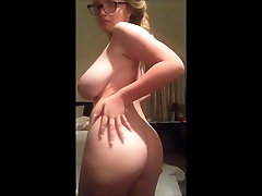 Huge tits white chick