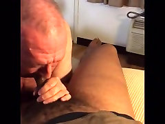 marcus LOVES sucking black cock