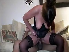 White Mom Tries Black Cock