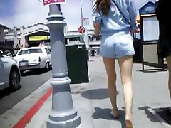 BootyCruise: Booty Shorts Asian Girl On Holiday