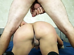 Latin Shemale Doggystyle Creampies Vol. 1