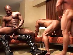 Nasty men - black & white gangbang