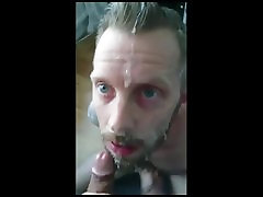 Milking bf face