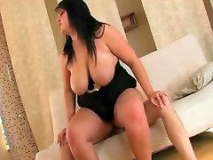 Fucking Horny Fat Chubby BBW Teen ex GF on cam-2