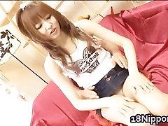 Stluuty and hairy Japanese schoolgirl part3