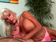 Granny loves jerking cocks