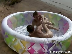 Beach boys wrestling