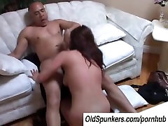Tasia is a tasty brunette MILF who loves to eat cum