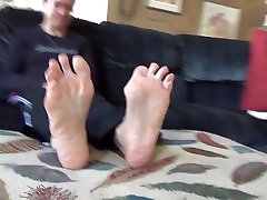 Mature feet Wrinkly Soles