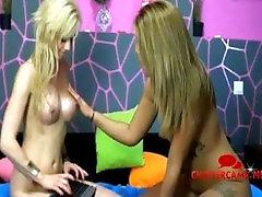 Hot Teens Lesbian Foreplay