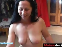 Chubby MILF gets licked fingered and fucked by s - mature-fucks