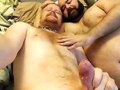 2 Danish - Young Hairy Guy & Mature Daddy Guy Bears Show 2