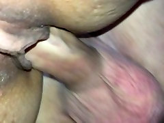 Hard White Cock in My Tight Asian Pussy