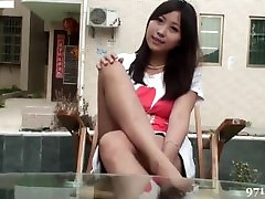 Sexy Asian Foot & Leg Tease