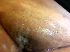 washing my pussy