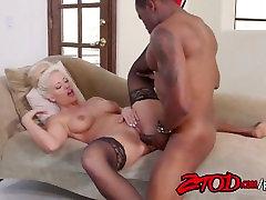 Holly Heart loves it when she feels pierced by a big black cock