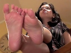 Mature Feet Soles & Under Her Soft Soles