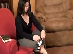 Mature Feet Soles & Woman taking your shoes