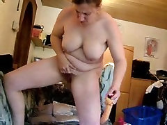 Dollie from 1fuckdate.com - Nasty german mature squirts