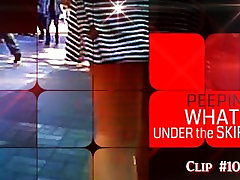 PEEPING IN THE CITY, WHATS UNDER THE SKIRT?, PUBLIC, CLIP 10, SEASON 2