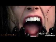 Tori Black hot spit play