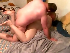 chubby fucked hard by a bear